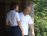 Hotaka Yuka and friend in wild outdoor fucking picture 9