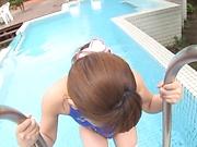 Namiki Anri drops her innocent looks for a bonk