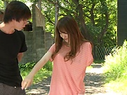 Hayama Hitomi wants to have sex outdoors
