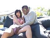 Sweet outdoor blowjob with Hibiki Ohtsuki