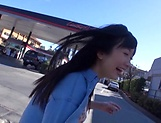 Sweet outdoor blowjob with Hibiki Ohtsuki picture 4