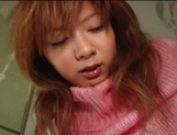 Busty Asian milf Aki Katase gets fucked in superb outdoor session picture 11
