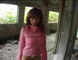 Busty Asian milf Aki Katase gets fucked in superb outdoor session