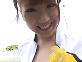 Namiki Anri flaunts her super sexy boobs. picture 8