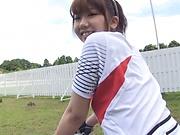 Namiki Anri flaunts her super sexy boobs.