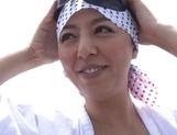 Naughty Ryoko Murakami bonked hard on a boat picture 13