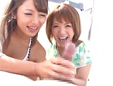 Incredible Ayu Sakurai gives amazing head