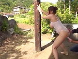 Oiled lass Nishikawa Rion having fun with a horny dude picture 46