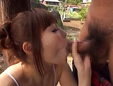 Oiled lass Nishikawa Rion having fun with a horny dude picture 56
