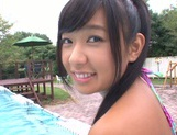 Sexy Nana Ogura exposes her hot body outdoors for pov sex