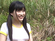 Kitano Nozomi gets nailed superbly outdoors