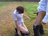 Hotaka Yuka shows her super blowjob skills picture 11