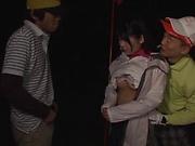 Lovely Katakura Moe gets penetrated deep