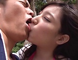 Kinky Mizuka Hayakawa has her boobs fucked picture 11