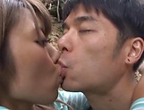 Ayu Sakurai gets her twat rammed outdoors picture 11