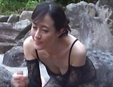 Cute Ririko Hibiko in lingerie fucked hard