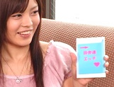 Hot amateur milf China Yuki gets fingered and smacked outdoors
