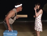 Kitano Nozomi gives some wild blowjob picture 3