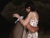 Kitano Nozomi gives some wild blowjob picture 6