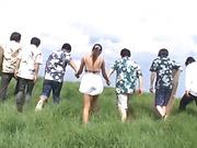 Hasegawa Rui gets bonked hard doggy0style