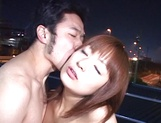 Cum on face for dazzling Asian milf Akane Mochida picture 8