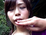 Yuuka Aoba enjoys a sizzling hot outdoor fuck picture 14