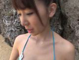 Meisa chibana gets nasty in sexy outdoor pov hardcore picture 12