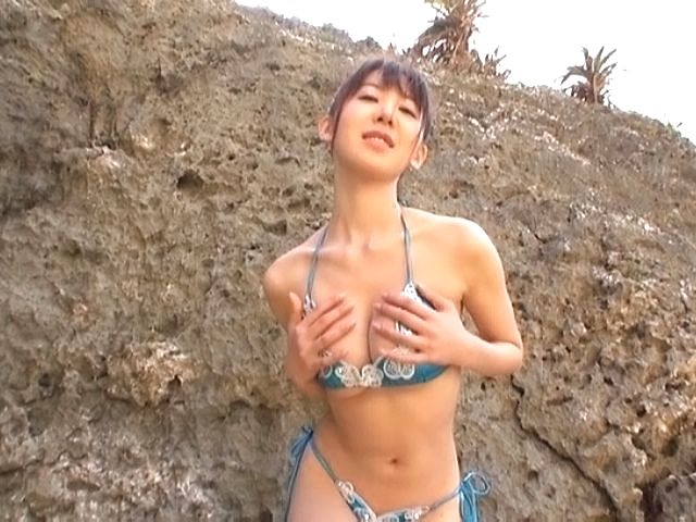 Meisa chibana gets nasty in sexy outdoor pov hardcore