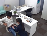 Wild office action as hot diva banged deep picture 15