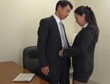 JApanese AV model blows boss for a good raise at work
