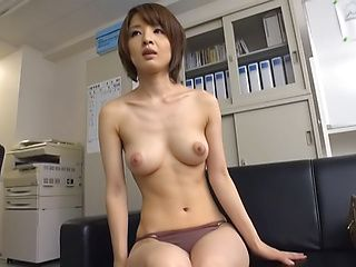 Alluring Asian milf Yukina in hardcore threesome