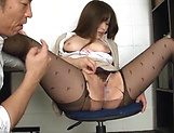 Kiriyama Anna nailed superbly at the office picture 57