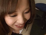 Kiriyama Anna nailed superbly at the office picture 79