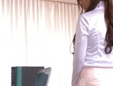 Lusty office lady has a good fuck