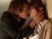 Lovely Kurumi moans when penetrated deep
