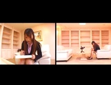 Ai Sayama naughty Asian office lady knows how to get a raise picture 5