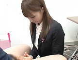Fuyutsuki Kaede enjoys doggy fuck in office picture 10