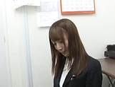 Fuyutsuki Kaede enjoys doggy fuck in office picture 7