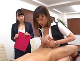 Stunning Japanese office lady fucked hard picture 137