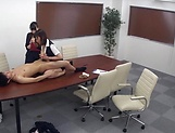 Stunning Japanese office lady fucked hard picture 141