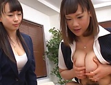 Stunning Japanese office lady fucked hard picture 147