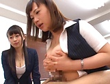 Stunning Japanese office lady fucked hard picture 149