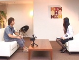 Japanese office lady gets position 69 in interview for job picture 12