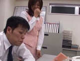 Rino Kamiya Asian office lady gets banged during break picture 4
