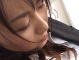 Nice Japanese office lady Rei Itoh enjoys a hardcore action picture 13