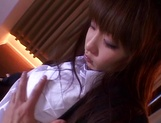 Lusty Yuki thrives in cock sucking picture 4