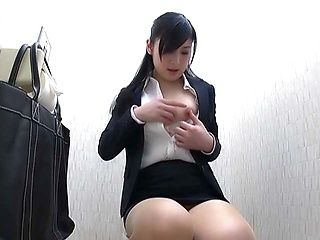 Seino Iroha, Japanese office lady enjoys hot solo masturbation
