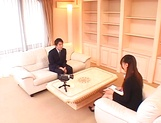 Ai Sayama Japanese office lady gets hot tit fuck picture 10