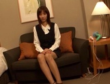 Japanese AV model gets laid with her boss for a raise