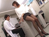 Ichika Kanhata naughty Asian milf is giving arousing blowjob picture 6